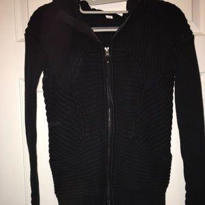 Lululemon Athletica Embrace hoodie knit black 4